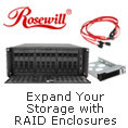 Rosewill Expand Your Storage With RAID Enclosures