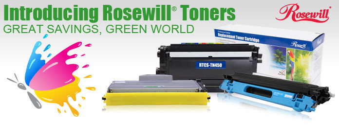 Introducing Rosewill Toners