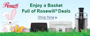 The Bunny Brought a Basket Full of Rosewill® Deals