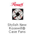 Stylish New Rosewill® Case Fans