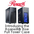 Introducing the Rosewill® Rise Full Tower Case - Rise to the Ultimate Gaming Experience