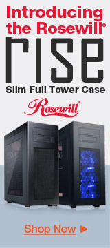 Rosewill Rise Slim Full Tower Case