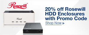 Up to 40% off Rosewill® Cases and PSUs