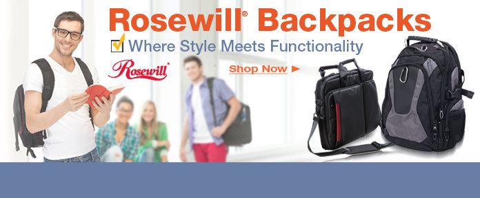 Rosewill Backpacks - Where Style Meets Functionality