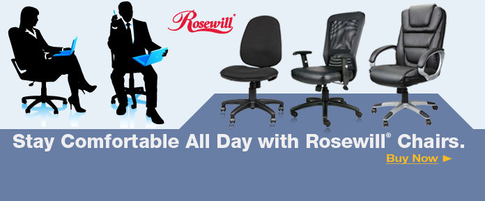 Stay Comfortable All Day with Rosewill Chairs