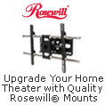 Upgrade Your Home Theater with Quality Rosewill® Mounts
