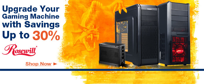 Rosewill - Upgrade Your Gaming Machine with Savings Up to 30%