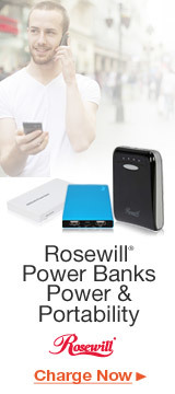 Rosewill® Power Banks Power & Portability
