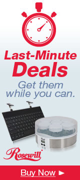 Last-Minute Deals - Get them while you can.