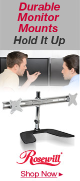 Durable Monitor Mounts Hold it up