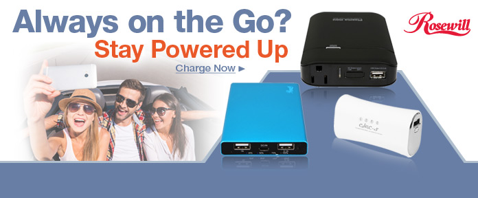 Always on the Go? Stay Powered Up