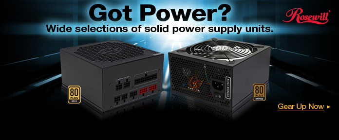 Got Power? - Wide selection of solid power supply units.