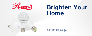 Brighten Your Home without Breaking Your Bank with Rosewill