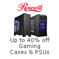 Summer Savings - Up to 40% Off Rosewill Gaming Components