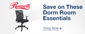 Save on These Dorm Room Essentials