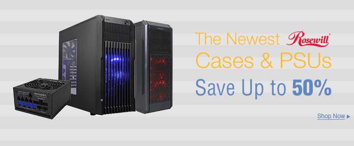 The newest cases & PSUs