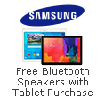 Free Bluetooth Speaker When You Buy Select Samsung Tablets