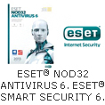 ESET® NOD32 ANTIVIRUS 6. ESET® SMART SECURITY 6. AVAILABLE NOW