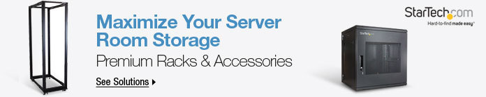 Maximize your server room storage