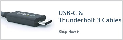 USB-C & Thunderbolt 3 cables