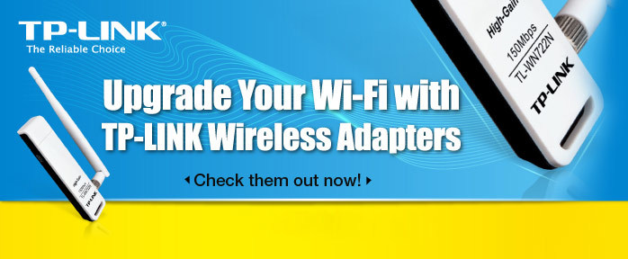 Upgrade Your Wi-Fi with TP-Link Wireless Adapters