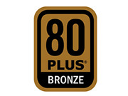 Certified 80 Plus Bronze Power Supplies