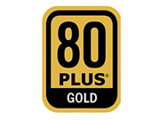 Certified 80 Plus Gold Power Supplies