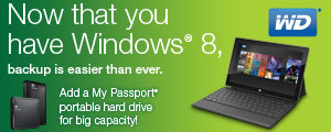 Now that you have Windows® 8,backup is easier than ever