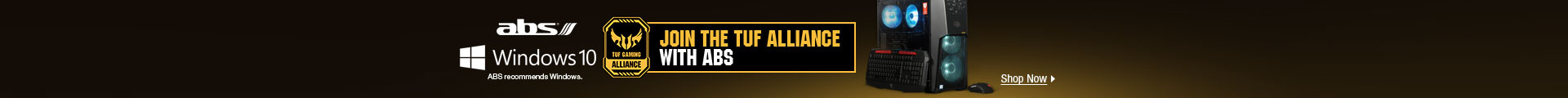 abs JOIN THE TUF ALLIANCE WITH ABS