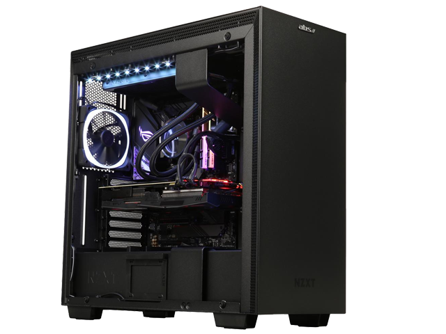 ABS Ninja - Intel i9-9900K - Strix GeForce RTX 2080 Super - 32GB DDR4 3200MHz - 1TB NVMe SSD - Liquid Cooling 240mm - Gaming Desktop PC