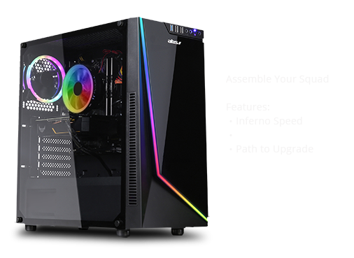 ABS Rogue - Intel i7-8700 - GeForce RTX 2070 - 16GB DDR4 - 1TB SSD - Gaming Desktop PC