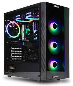 ABS Mage H - Intel i7-9700K - GeForce RTX 2080 - 16GB DDR4 - 1TB SSD - Liquid Cooling - Gaming Desktop PC