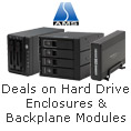 Deals on Hard Drive Enclosures & Backplane modules