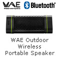 WAE Outdoor Wireless Portable Speaker