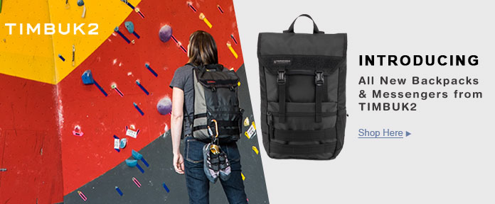 Timbuk2 Backpacks and Messengers