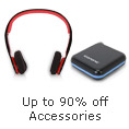 Up to 90% off Accessories