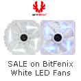 SALE on BitFenix White LED Fans