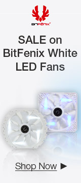 SALE on BitFenix White LED Fans