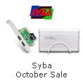 Syba October Sale