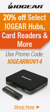 20% off Select IOGEAR Hubs, Card Readers & More
