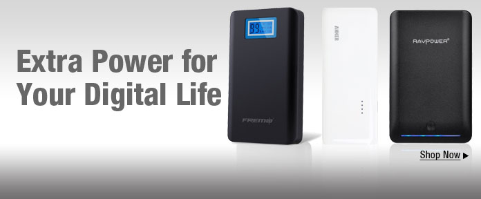 Extra power for your digital life shop now