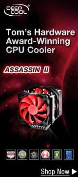 Tom's Hardware Award-Winning CPU Cooler