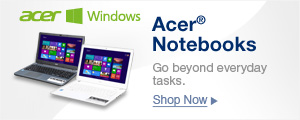 Acer Notebooks Go Beyond