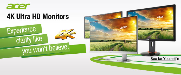Acer 4K Ultra HD Monitors