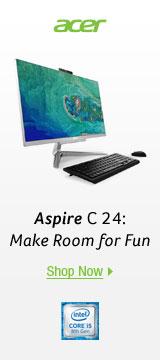 Aspire C 24: Make Room for Fun