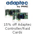 15% off Select Adaptec Controller/Raid Cards