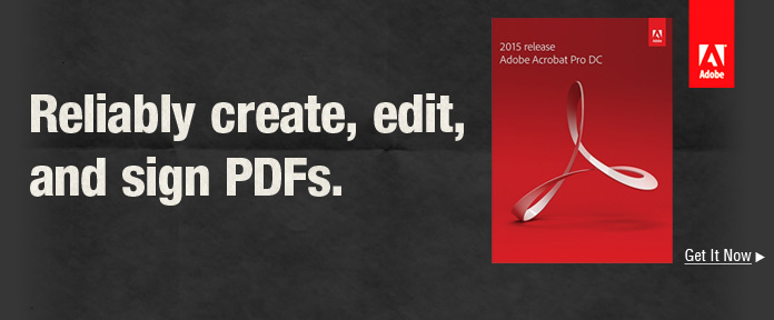 Reliably create, edit, and sign PDFs.