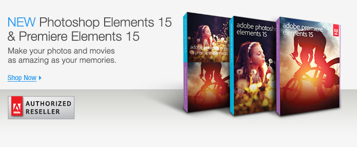 New Photoshop elements 15 & premiere elements 15