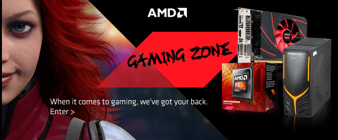 AMD Gaming Zone