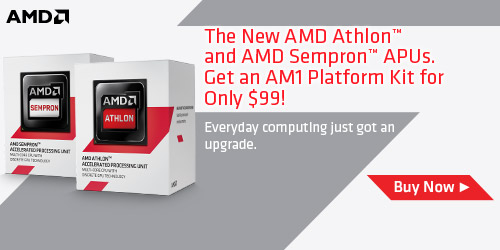 The New AMD Athlon & AMD Sempron APUs